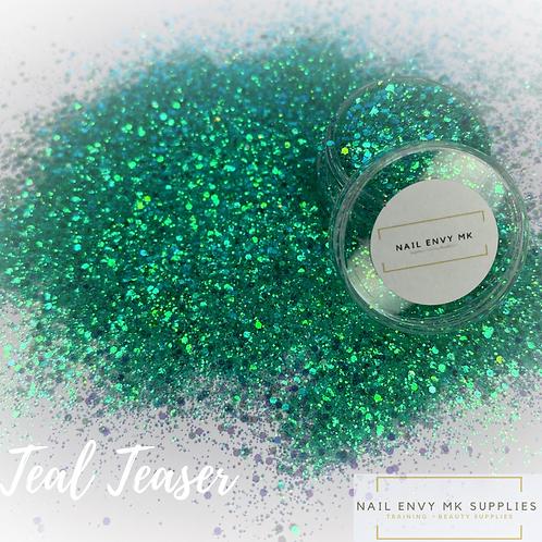 Teal Teaser Glitter
