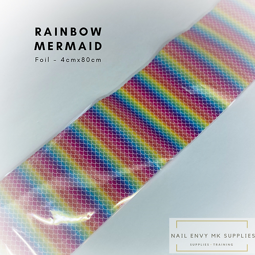 Foil - Rainbow Mermaid