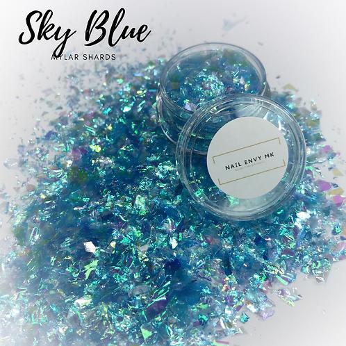 Sky Blue - Mylar Shards
