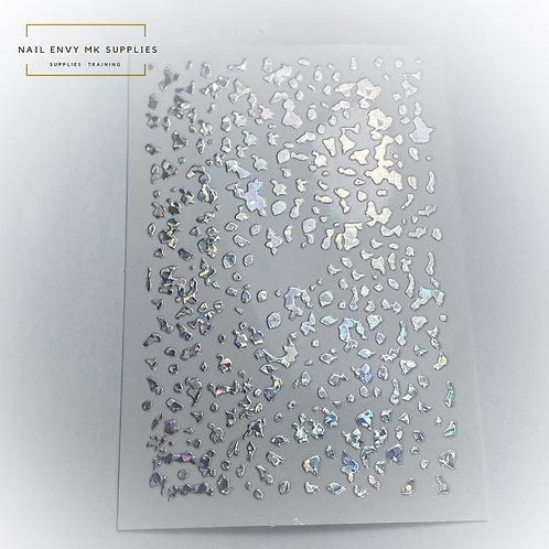 Holo Silver Spots Sticker Sheet