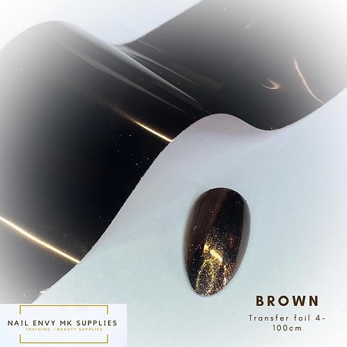 Foil - Brown