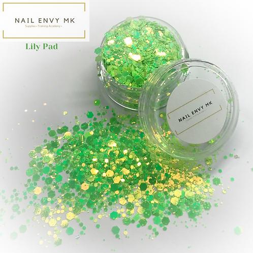 Lily Pad - Chameleon Glitter