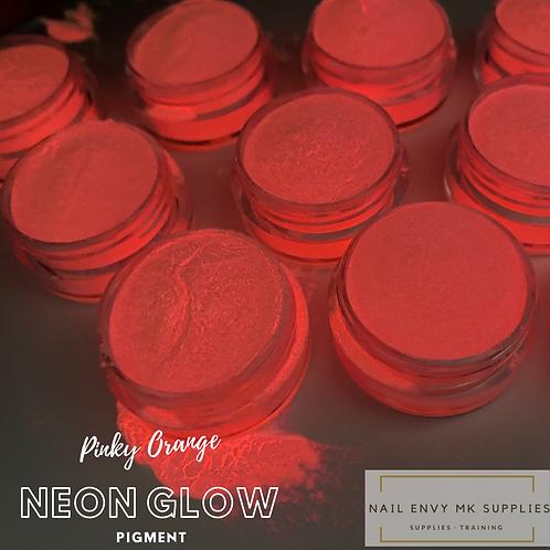 Neon Glow Pigment - Pinky Orange