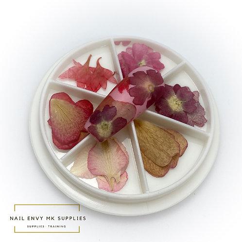 Dried Flower Wheel - Design 4