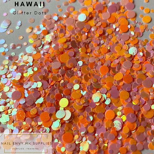 Hawaii Glitter Dots