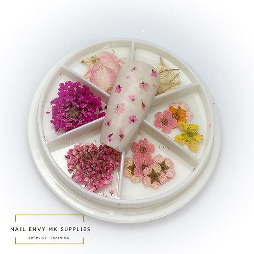 Dried Flower Wheel - Design 3