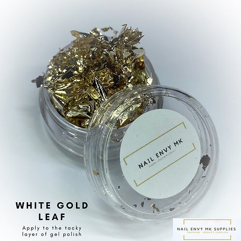 White Gold Leaf