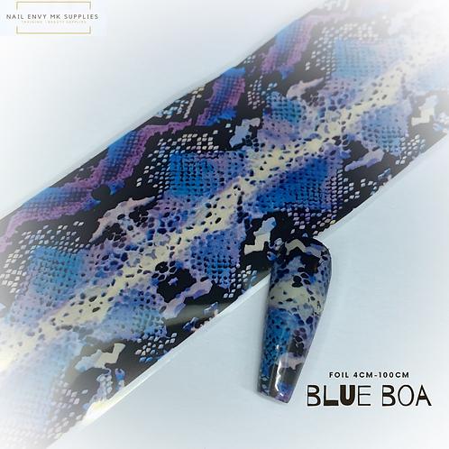 Foil - Blue Boa