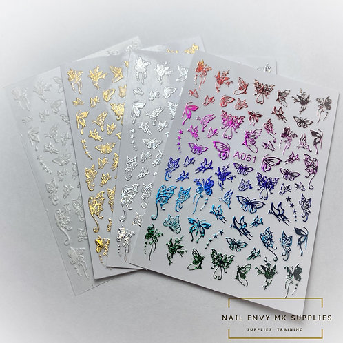 Butterfly Fairy Stickers