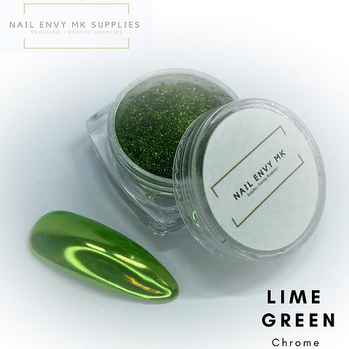 Chrome - Lime Green