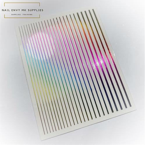 Rainbow Design Tape Sheet