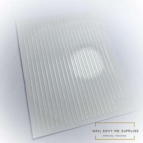 White Design Tape Sheet