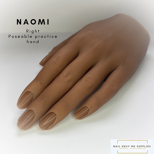 Naomi - Right Poseable Practice Hand