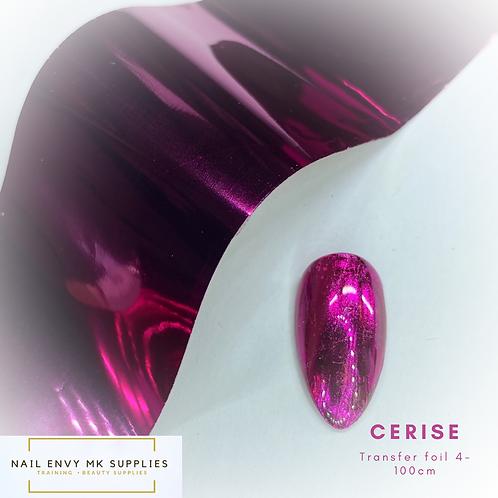 Foil - Cerise