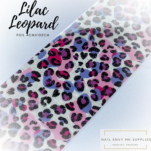 Foil - Lilac Leopard