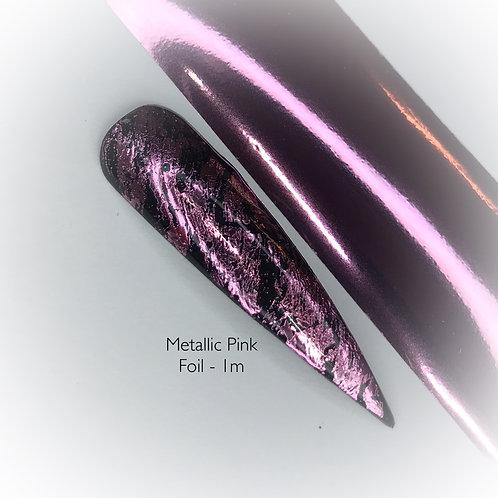 Metallic Pink Foil