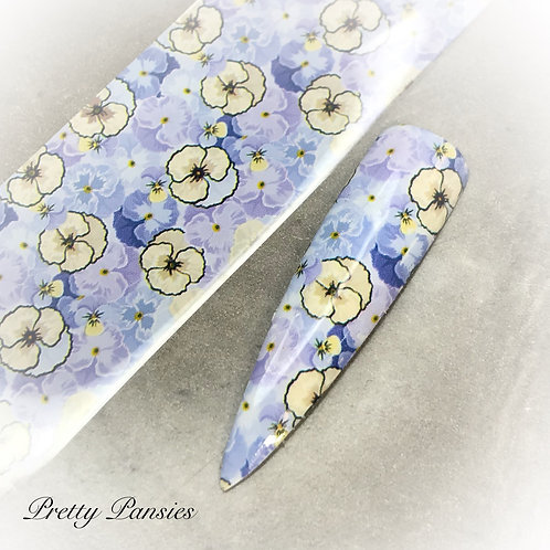 Foil - Pretty Pansies