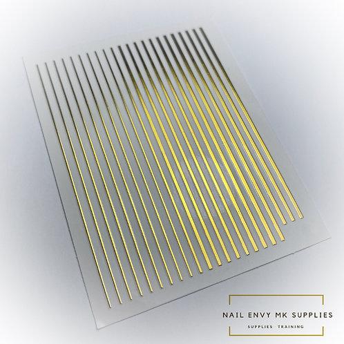 Gold Design Tape Sheet