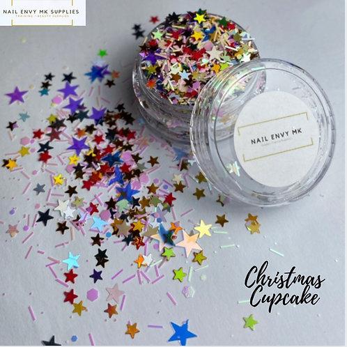 Christmas Cupcake Glitter