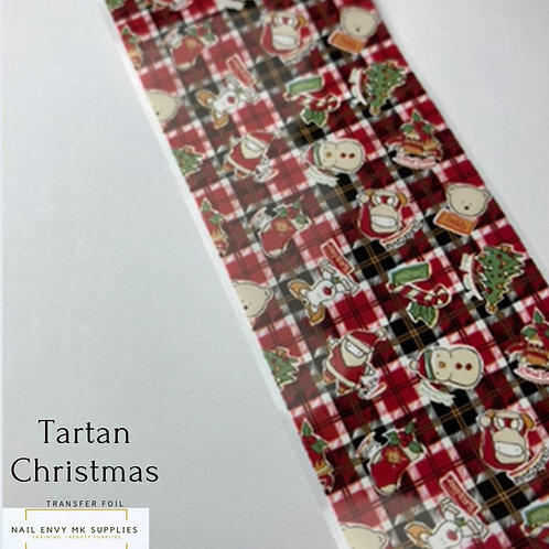 Tartan Christmas Foil