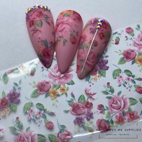 Vintage Bloom Foil