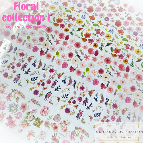 Foil - Floral Collection 1