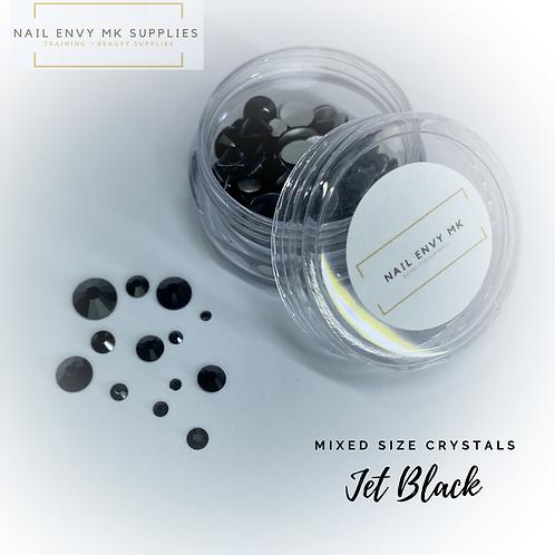 Jet Black Crystals