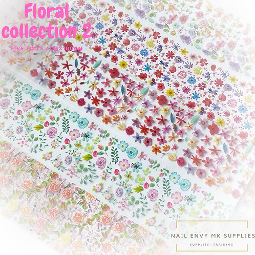 Foil - Floral Collection 2