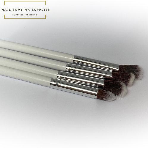 Art Brush Set - White & Silver