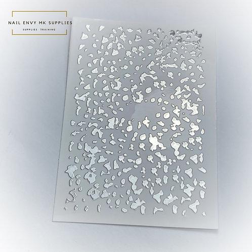Silver Spots Sticker Sheet