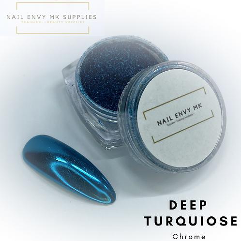 Chrome - Deep Turquoise