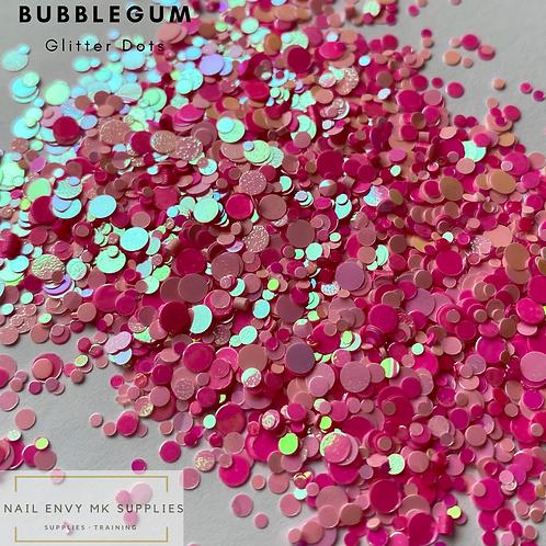 Bubblegum Glitter Dots
