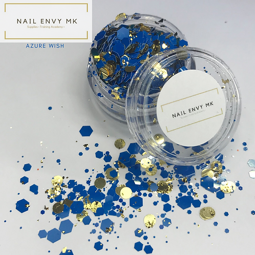 Azure Wish Glitter