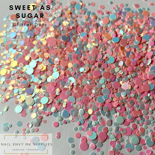 Sweet as Sugar Glitter Dots