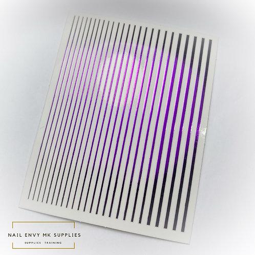 Purple Design Tape Sheet