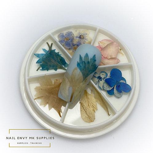 Dried Flower Wheel - Design 1