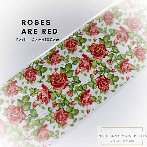 Foil - Roses are Red