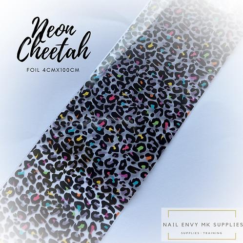 Foil - Neon Cheetah