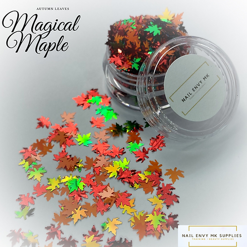 Magical Maple Autumn Leaves