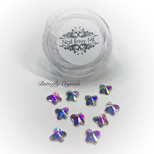 AB Butterfly Crystals