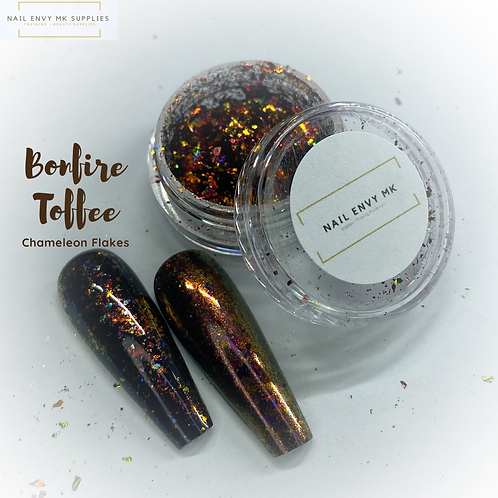 Chameleon Flakes - Bonfire Toffee