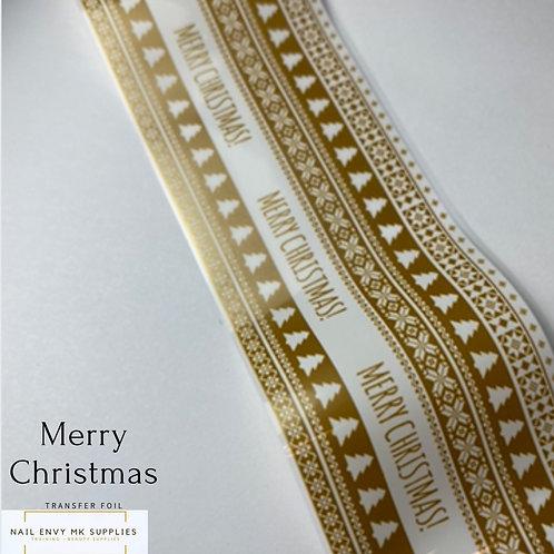 Merry Christmas Foil