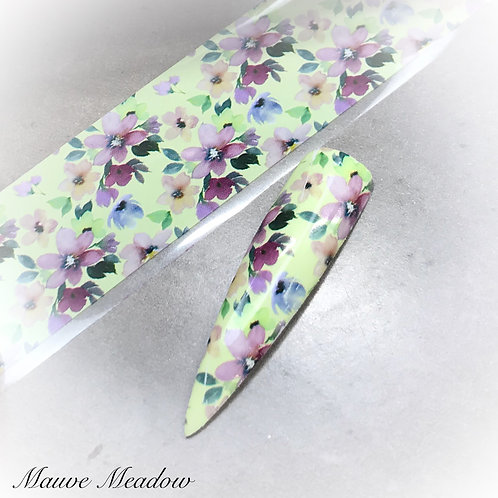 Foil - Mauve Meadow