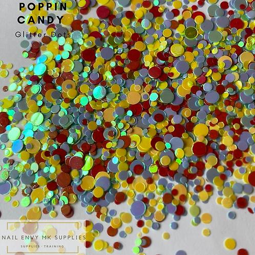 Poppin Candy Glitter Dots
