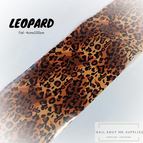 Foil - Leopard