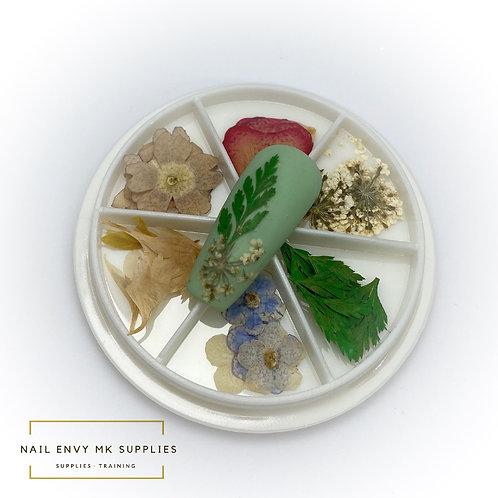 Dried Flower Wheel - Design 5