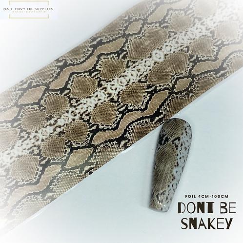 Foil - Don't Be Snakey