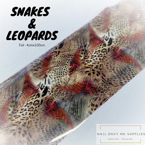 Foil - Snakes & Leopards