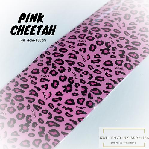 Foil - Pink Cheetah