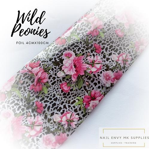 Foil - Wild Peonies
